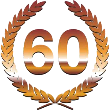 Congratulate on the anniversary of 60 years